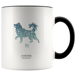 Dog Zodiac Accent Mug
