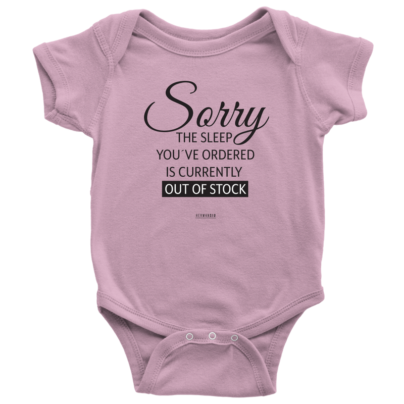 OUT OF STOCK BABYSUIT