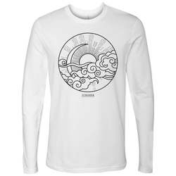 NEXT LEVEL MEN LONG SLEEVE SUN MOON BLACK