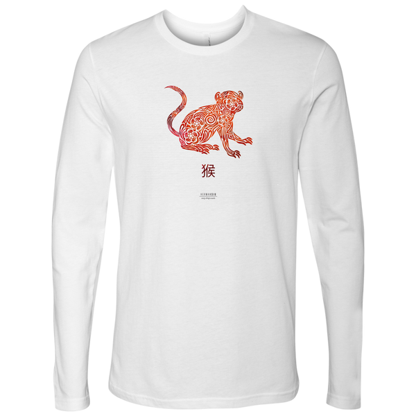 Monkey Zodiac Long Sleeve