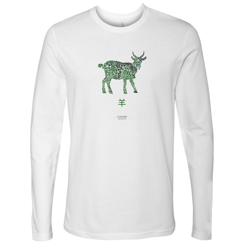 Goat Zodiac Long Sleeve