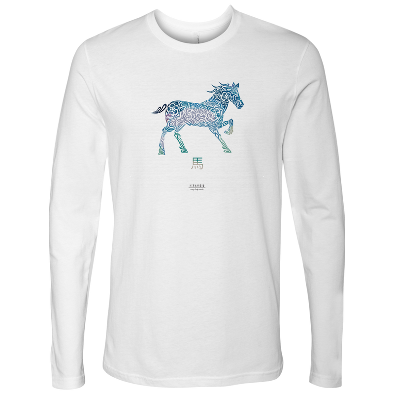 Horse Zodiac Long Sleeve