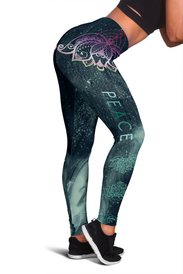 PEACE PREMIUM YOGA LEGGINGS