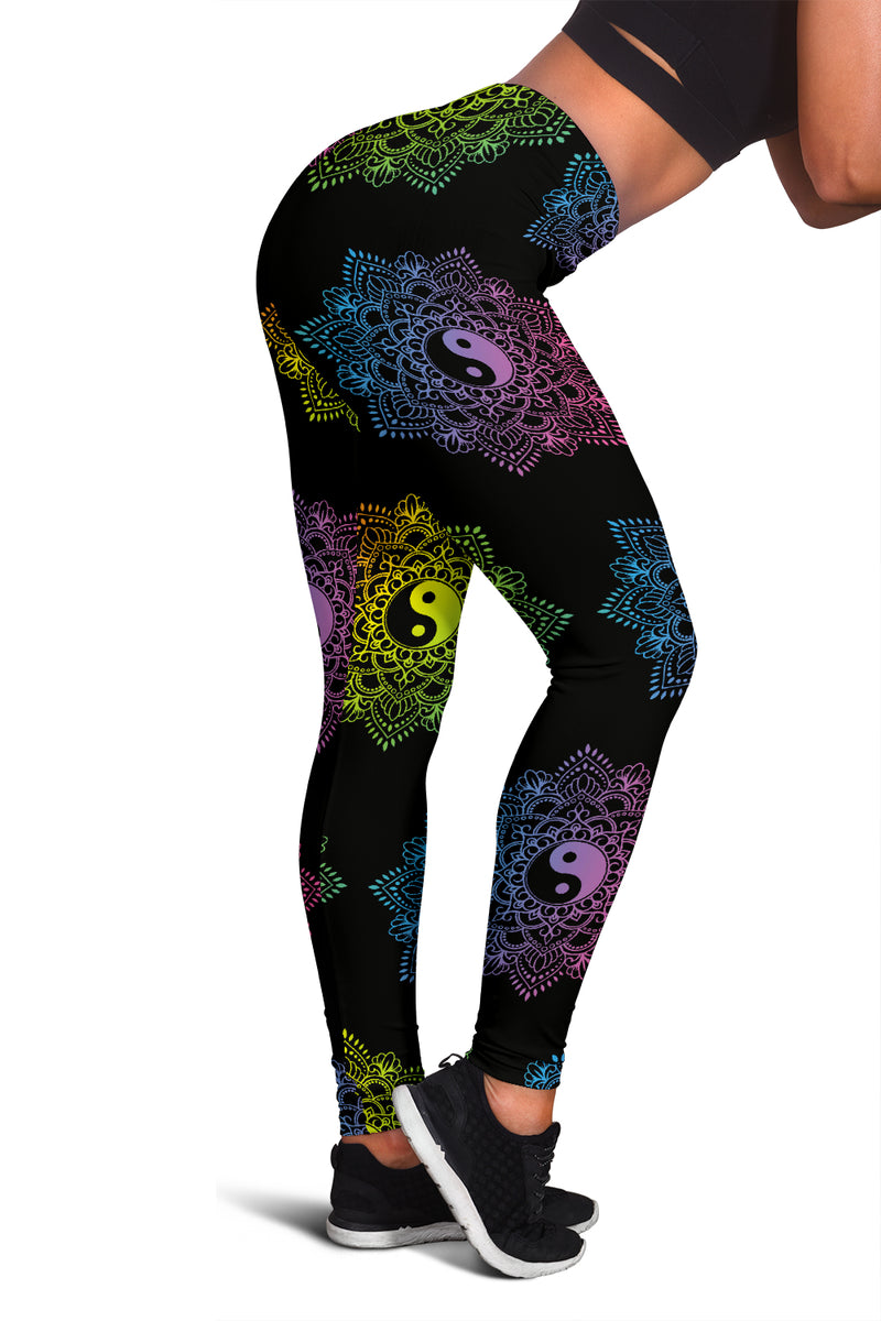 YIN & YANG PREMIUM YOGA LEGGINGS
