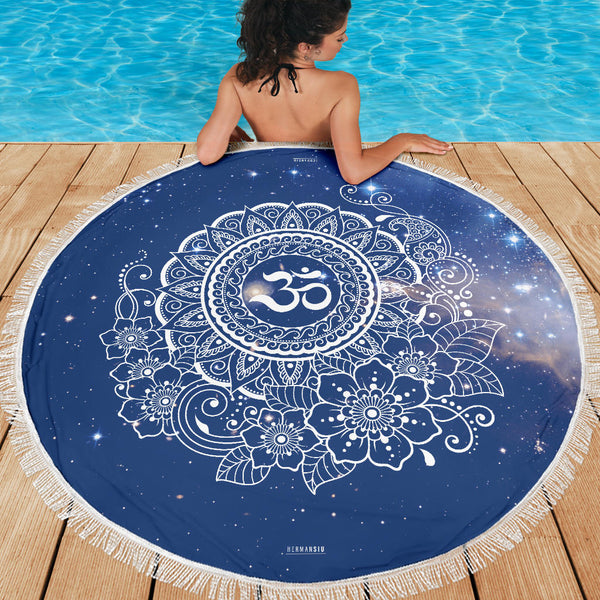 OM MEDITATION / BEACH MAT