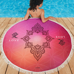 LOVE MEDITATION / BEACH MAT