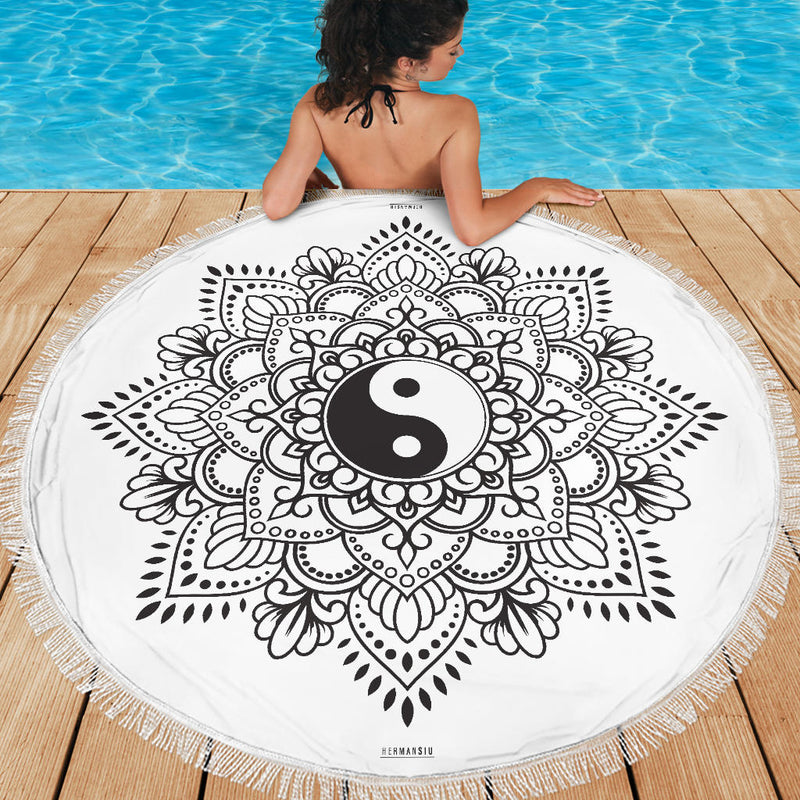 YIN YANG MEDITATION / BEACH MAT