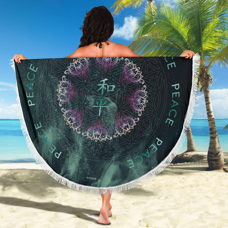 PEACE MEDITATION / BEACH MAT
