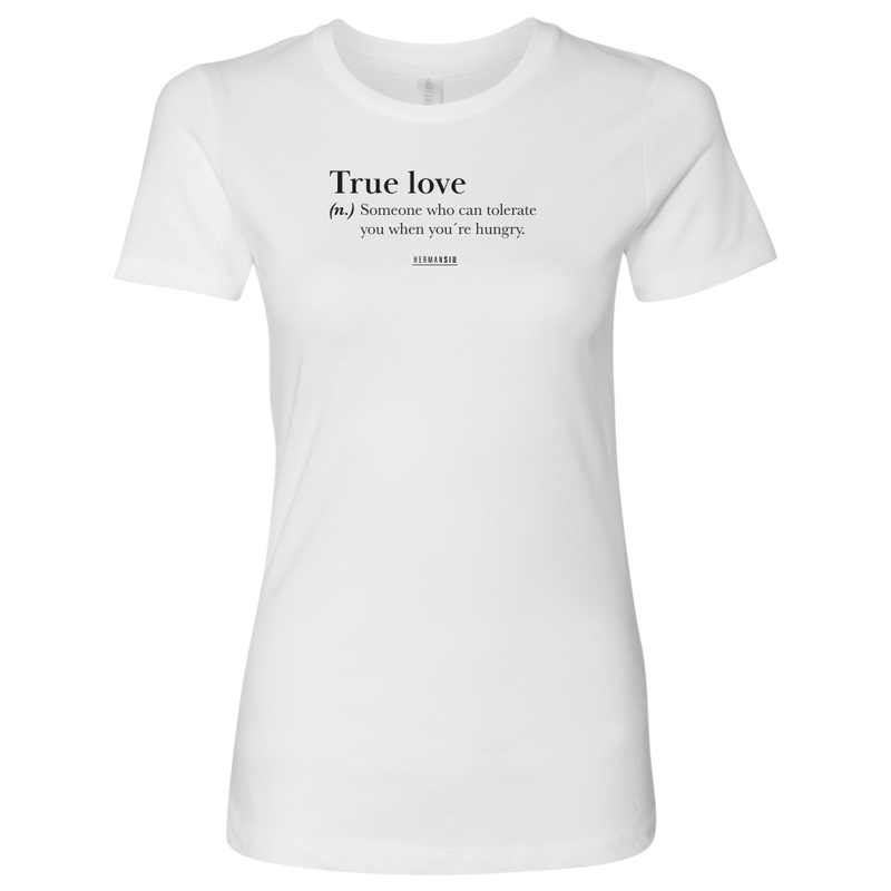 TRUE LOVE WOMENS SHIRT