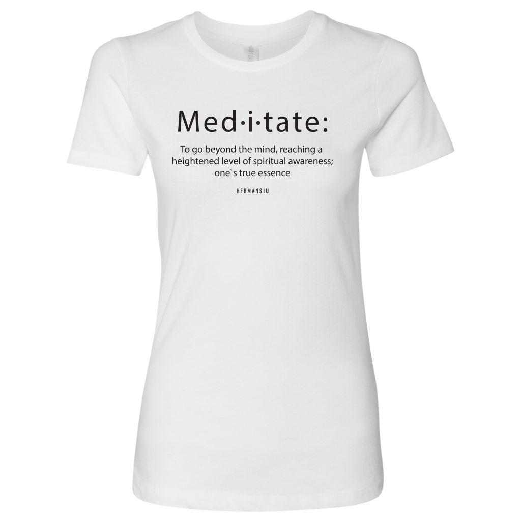 NEXT LEVEL WOMEN MEDITATE BLACK
