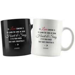 THE LOVE MUGS BLACK & WHITE