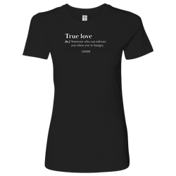 TRUE LOVE WOMEN T-SHIRT
