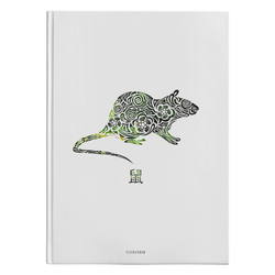 Rat Zodiac Hardcover Journal