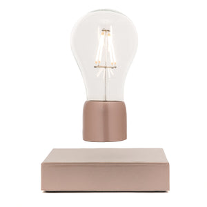 rose gold marble levitation lamp - Paer Design