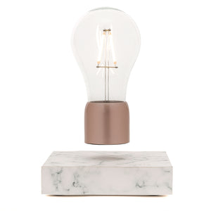 white marble levitation lamp - Paer Design