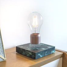 Levitating lamp - black marble - PÆR Studio