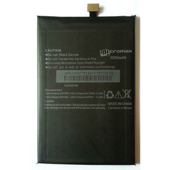 3000mAh Battery for Micromax Canvas Juice 2 AQ5001