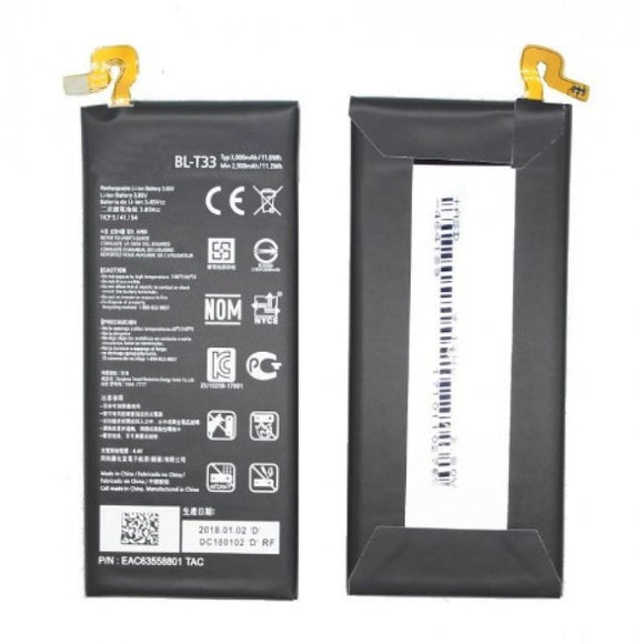 3000mAh BL-T33 Battery For LG Q6 M700A M700N M700AN M700DSK Mobile Phone Batteries