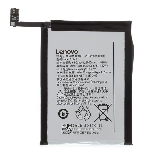 3000mAh BL246 Mobile Battery for Lenovo Vibe