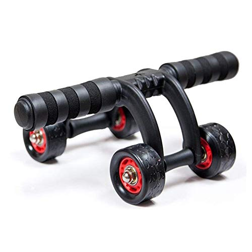 Ab Wheel Belly Fat Reducer 4 Wheel Roller Unisex Fitness Training Toning Back and Arms