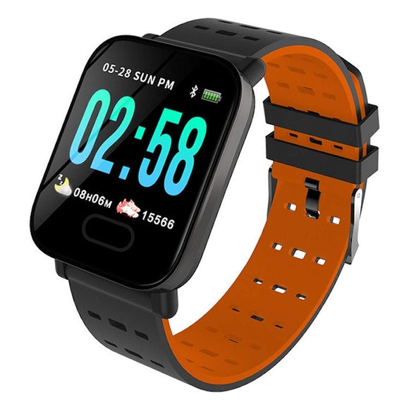 A6 smart watch blood pressure sleep monitoring strap fitness sports bracelet