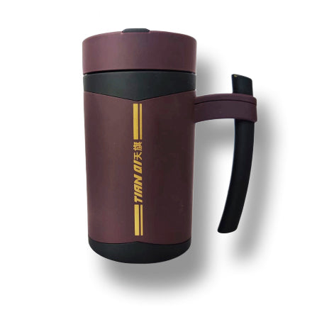 480ml Stainless Steel Flask Insulated Cup Thermal Mug Water Bottle Portable Vacuum Coffee Wine Tumbler Thermos Bottle