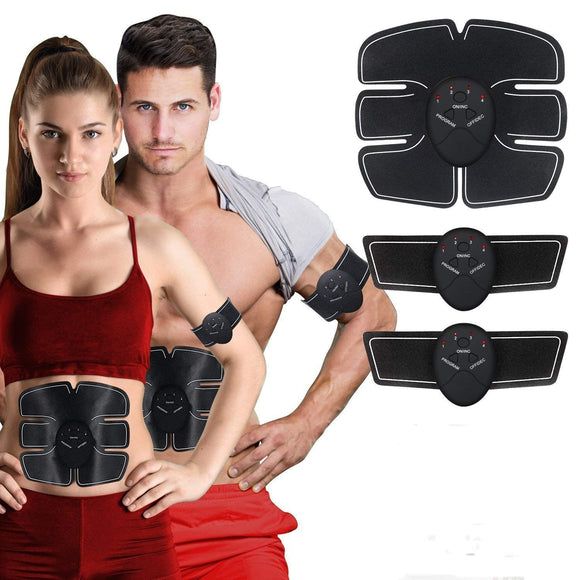 Muscle Toner Abdominal Toning Belt Muscle Trainer ABS EMS Body Fit Toning Belt