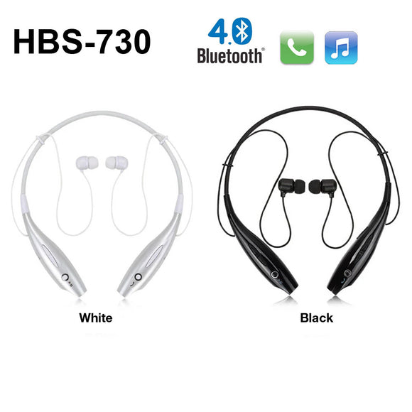 HBS-730 Bluetooth Stereo Sports Neckband Headset for Smartphone iOS Device