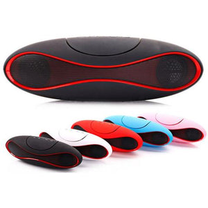 Rugby Wireless Bluetooth Oval Shape Speaker 2.1 Channel