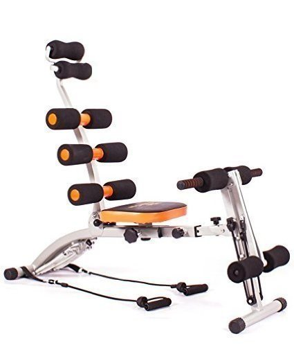six Pack Ab care Exerciser Ab Builder Heavy Duty Abdomen Exerciser,Home Gym