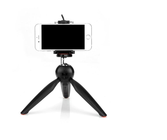 YT-228 Mini Tripod For Digital Camera and All Mobile Phones Stand