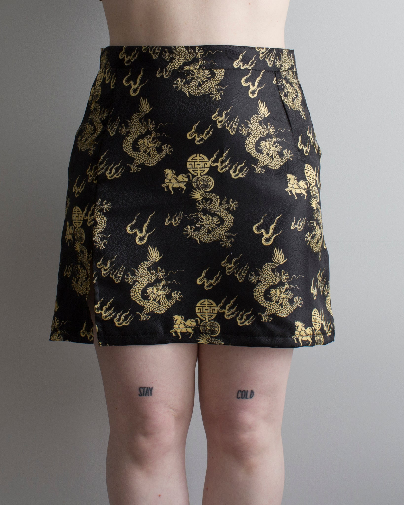 M-L Big Dragon Energy Skirt