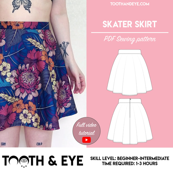 PDF Sewing Pattern - Bike Shorts and Leggings
