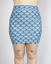 Load image into Gallery viewer, MEDIUM Arctic Sea Witch Printed Bodycon Mini Skirt