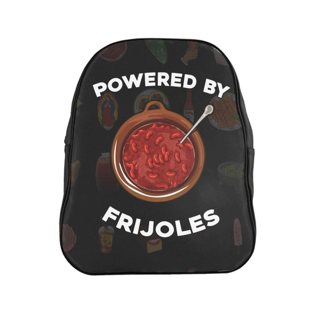 Powered by Frijoles Backpack (Black)