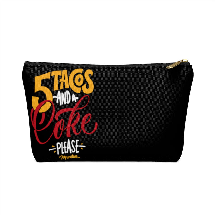 5 Tacos Anda A Coke Accessory Bag
