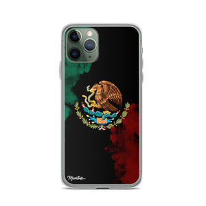 Smoke Mexican Flag iPhone Case