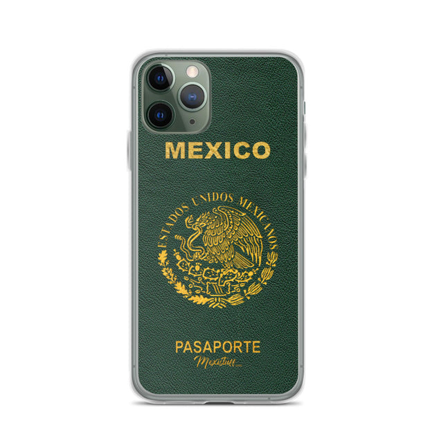 Mexican Passport iPhone Case