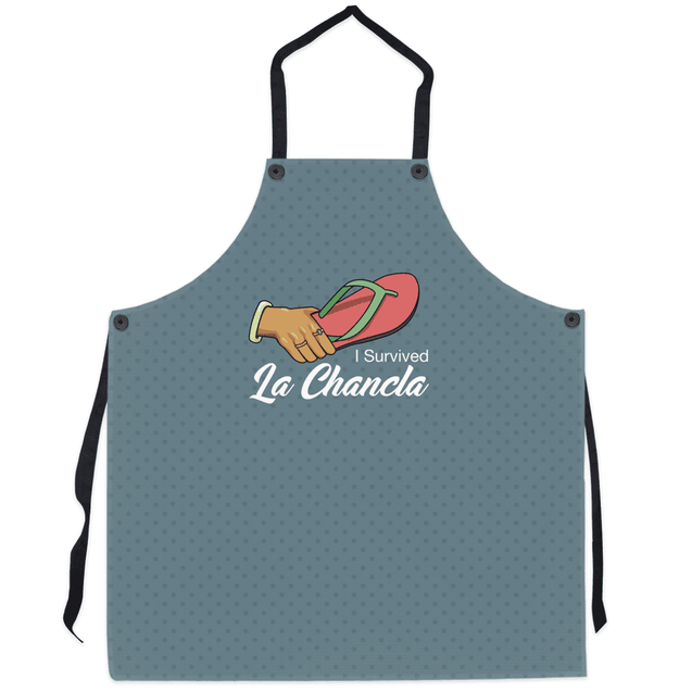I Survived Apron (Grey)