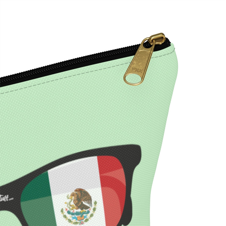 Mexican Flag Sunglasses Accessory Bag