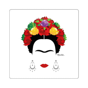 Frida Kahlo Square Sticker