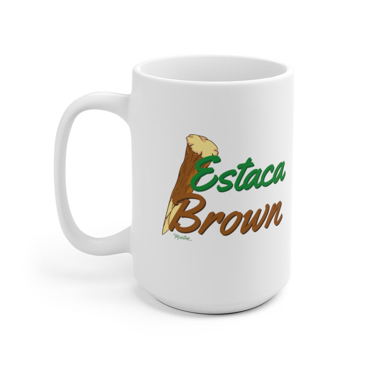 Estaca Brown Mug