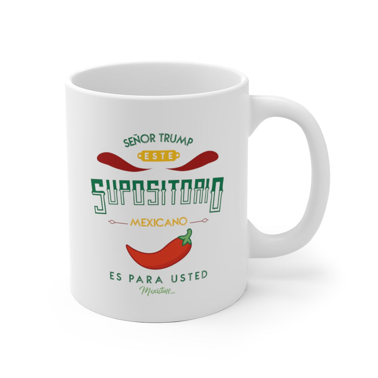 Trump Supositorio Mug