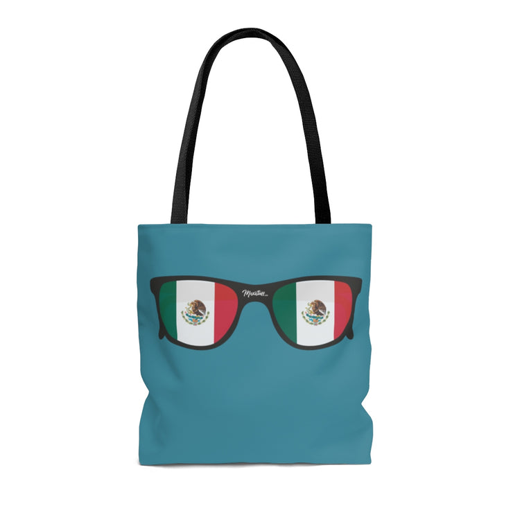 Mexican Flag Sunglasses Tote Bag