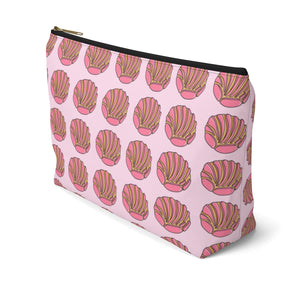 Copy of Concha Accessory Pouch w T-bottom (Pink)