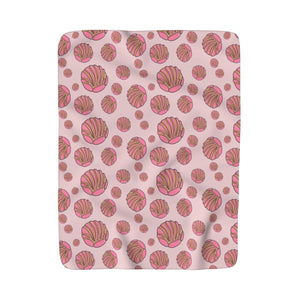 Conchas Blanket (pink)