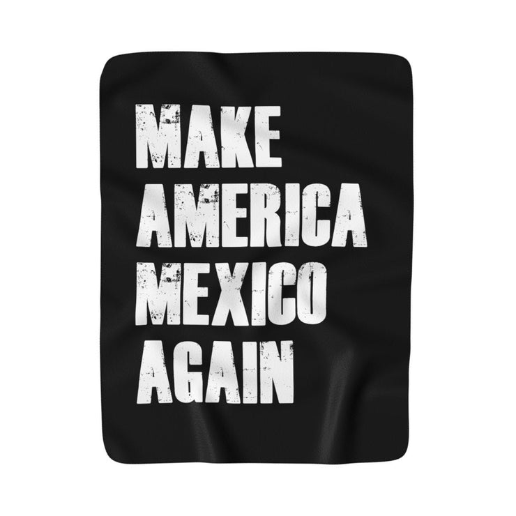Mexico Again Blanket (Black)