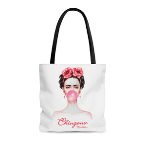 Chingona Frida Tote Bag