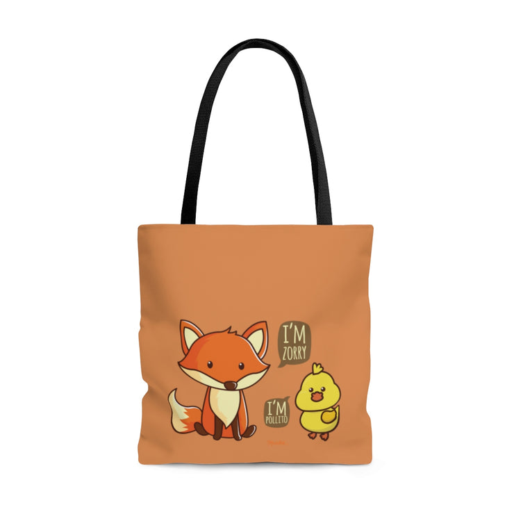 I Am Pollito Tote Bag
