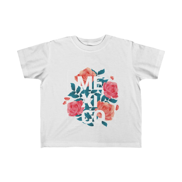 Mexico with Roses Kid's Tee